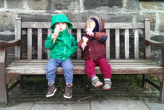 ice cream beach whitby