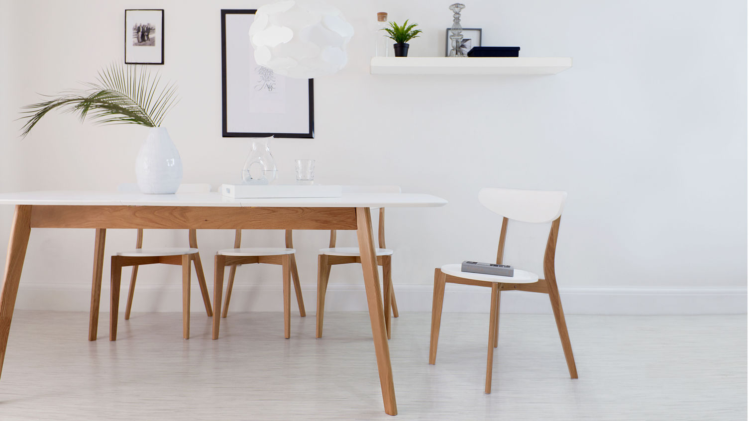 Unique and modern interiors with danetti for White kitchen dining chairs