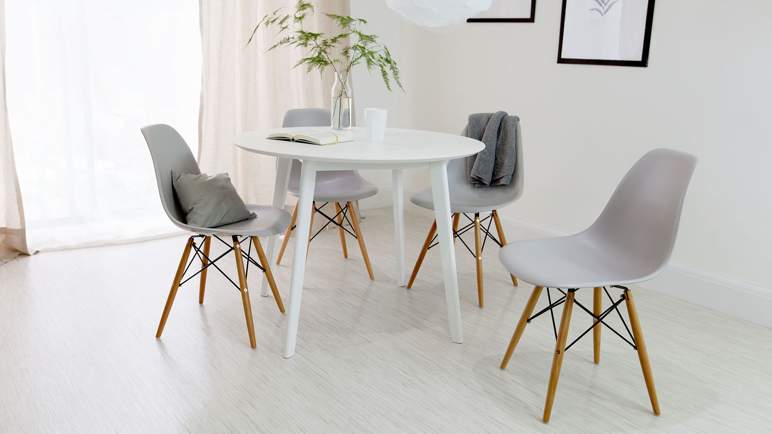 Unique and modern interiors with danetti for Stylish round dining table