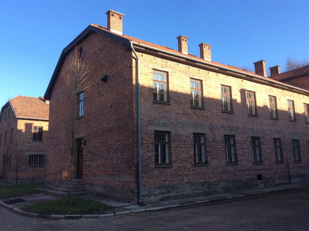 auschwitz buildings 2