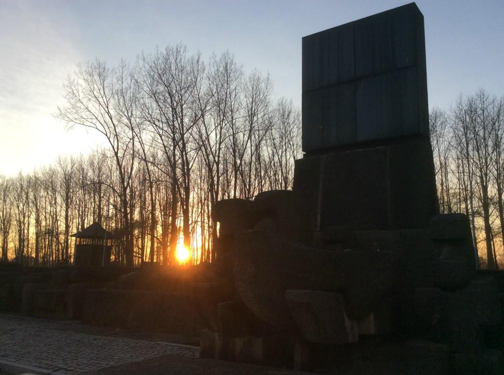 birkenau monument