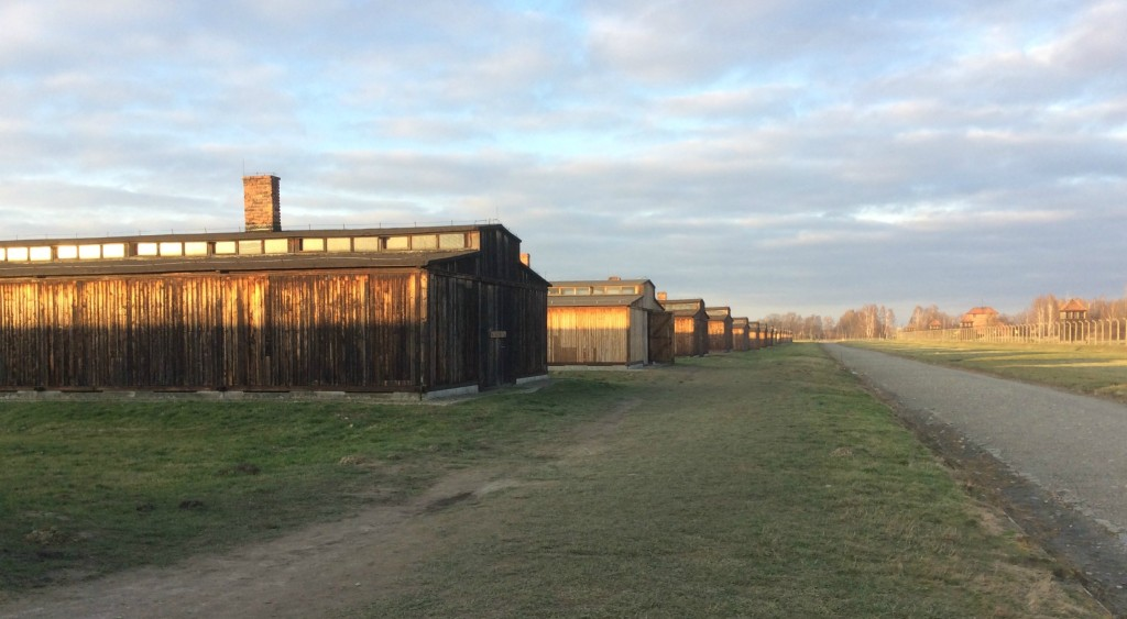 shacks at birkenau
