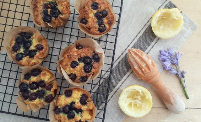hemsley hemsley blueberry muffins