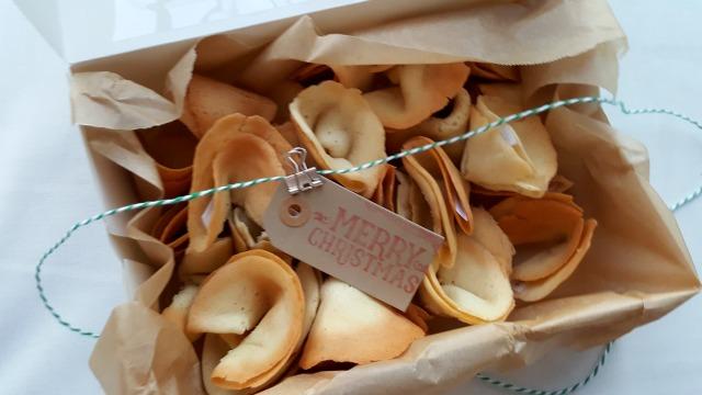 handmade fortune cookies