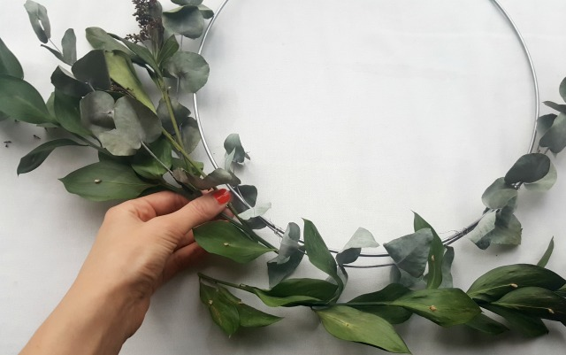 hygge wreath